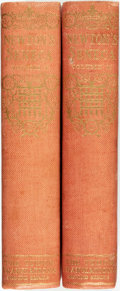 Books:Literature Pre-1900, Seneca. Thomas Newton, editor. LIMITED. Seneca: His TenneTragedies Translated into English. London: Constable a...(Total: 2 Items)