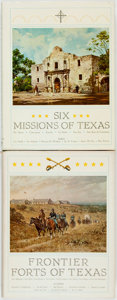 Books:Americana & American History, [Americana & American History]. Pair of Titles, One of Which is SIGNED. Six Mission of Texas [together with:] ... (Total: 2 Items)
