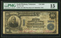 National Bank Notes:Tennessee, South Pittsburg, TN - $10 1902 Plain Back Fr. 626 The First NB Ch.# 3660. ...