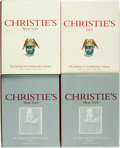 Miscellaneous:Catalogs, [Christie's]. The Helmut Friedlaender Library. [and:] TheLibrary of Abel E. Berland. New York: Chri... (Total: 4 Items)
