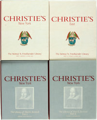 [Christie's]. The Helmut Friedlaender Library. [and:] The Library of Abel E. B