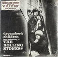 Music Memorabilia:Recordings, Rolling Stones Decembers Children Still Sealed Mono LP (London 3451, 1965)....