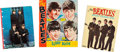 Music Memorabilia:Memorabilia, Beatles Vintage Coloring Book, Scrap Book, and School Notebook (US, 1964). ...