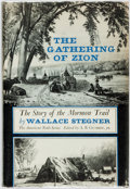 Books:Americana & American History, Wallace Stegner. The Gathering of the Zion: The Story of theMormon Trail. New York: McGraw-Hill Book Company, [...