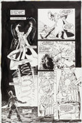 Original Comic Art:Panel Pages, Bernie Wrightson Batman: The Cult #1 Page 4 Joker OriginalArt (DC, 1988)....