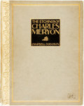 """Books:Art & Architecture, Campbell Dodgson. The Etchings of Charles Meryon. London: """"The Studio,"""" Ltd., 1921...."""