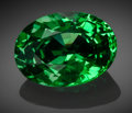 Gems:Faceted, Very Fine Gemstone: Tsavorite Garnet - 8.21 Ct.. Voi, TaitaTaveta District, Coast Province, Kenya. ...