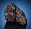 Meteorites:Irons, Campo del Cielo Meteorite (with Hole). Iron, IAB-MG (Main Group),coarse octahedrite. Gran Chaco, Argentina. ...