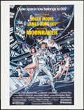 "Movie Posters:James Bond, Moonraker (United Artists, 1979). Promotional Poster (20.5"" X 27"")Regular Style. James Bond.. ..."
