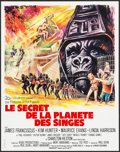 "Movie Posters:Science Fiction, Beneath the Planet of the Apes (20th Century Fox, 1970). FrenchPetite (17.75"" X 22.5""). Science Fiction.. ..."