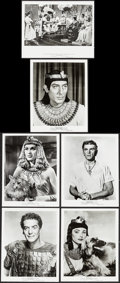 "Movie Posters:Historical Drama, The Egyptian & Other Lot (20th Century Fox, 1954). Photos (24)(8"" X 10""). Historical Drama.. ... (Total: 24 Items)"