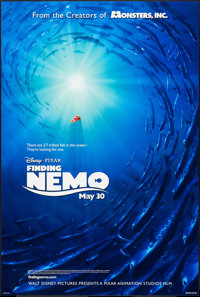 "Finding Nemo (Buena Vista, 2003). One Sheet (27"" X 40"") DS Advance. Animation"