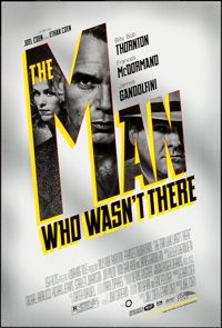 """The Man Who Wasn't There (USA Films, 2001). One Sheets (2) (27"""" X 40"""") DS Black and Silver Styles. Crime..."""