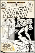 Original Comic Art:Covers, Dick Giordano The Flash #233 Cover Original Art (DC,1975)....