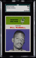 Basketball Cards:Singles (Pre-1970), 1961 Fleer Bill Russell #38 SGC 84 NM 7....