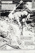Original Comic Art:Splash Pages, Rafael Kayanan and Others Fury of Firestorm Annual #3 SplashPage 1 Original Art (DC, 1985)....
