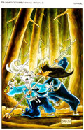 Original Comic Art:Covers, Stan Sakai Usagi Yojimbo Saga #2 TPB Cover Painting OriginalArt (Dark Horse, 2015)....