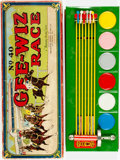 """Books:Furniture & Accessories, [Board Game]. [Toys]. [Horse-Racing]. Gee-Wiz RaceHorse-Racing Game, No. 40. A """"Sandy Andy"""" Game. Pittsburg: Wo..."""