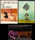 "Movie Posters:Academy Award Winners, Lawrence of Arabia & Others Lot (Columbia, 1962). Programs (3)(Multiple Pages, 7.5"" X 12"", 8.5"" X 11.25"", & 9"" X 12"").Acad... (Total: 3 Items)"