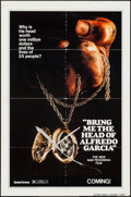 """Movie Posters:Crime, Bring Me the Head of Alfredo Garcia (United Artists, 1974). OneSheet (27"""" X 41"""") Advance. Crime.. ..."""