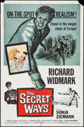 "Movie Posters:Adventure, The Secret Ways (Universal, 1961). One Sheet (27"" X 41"").Adventure.. ..."