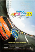 """Movie Posters:Sports, NASCAR: The IMAX Experience (Warner Brothers, 2004). Autographed One Sheet (27"""" X 40"""") DS. Sports.. ..."""