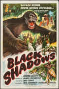 "Movie Posters:Foreign, Black Shadows & Other Lot (Eagle Lion, 1949). One Sheets (2) (27"" X 39.5"", 27"" X 41""). Foreign.. ... (Total: 2 Items)"
