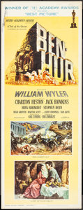 "Movie Posters:Academy Award Winners, Ben-Hur (MGM, 1959). Insert (14"" X 36"") Academy Awards Style. Academy Award Winners.. ..."