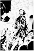 Original Comic Art:Splash Pages, David Nakayama and Rick Basaldua Witchblade #77 Splash Page14 Original Art (Top Cow/Image, 2004)....