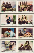 "Movie Posters:Horror, The Mask (Warner Brothers, 1961). Lobby Card Set of 8 (11"" X 14""). Horror.. ... (Total: 8 Items)"