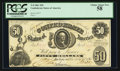 Confederate Notes:1861 Issues, T8 $50 1861 PF-7 Cr. 19.. ...