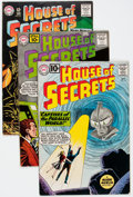 Silver Age (1956-1969):Horror, House of Secrets Group of 9 (DC, 1961-66).... (Total: 9 ComicBooks)