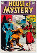 Golden Age (1938-1955):Horror, House of Mystery #4 (DC, 1952) Condition: FN....