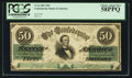 Confederate Notes:1861 Issues, T16 $50 1861 PF-1 Cr. 80.. ...