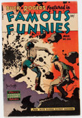 Golden Age (1938-1955):Science Fiction, Famous Funnies #216 (Eastern Color, 1955) Condition: VG....