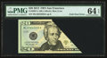 Error Notes:Foldovers, Fr. 2097-L $20 2013 Federal Reserve Note. PMG Choice Uncirculated 64 EPQ.. ...