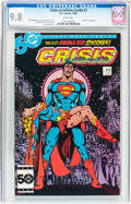 Modern Age (1980-Present):Superhero, Crisis on Infinite Earths #7 (DC, 1985) CGC NM/MT 9.8 Whitepages....