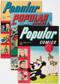 Golden Age (1938-1955):Miscellaneous, Popular Comics Group of 4 (Dell, 1945-46) Condition: Average VF/NM.... (Total: 4 Comic Books)
