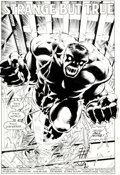 Original Comic Art:Splash Pages, Dale Keown and Bob McLeod Incredible Hulk #371 Splash Page 2Original Art (Marvel, 1990)....