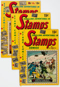 Golden Age (1938-1955):Miscellaneous, Stamps Comics Group of 9 (Youthful Magazines, 1951-52).... (Total: 9 Comic Books)