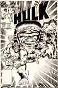 Original Comic Art:Covers, Ron Wilson and Joe Sinnott Incredible Hulk #288 CoverOriginal Art (Marvel, 1983)....