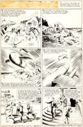 Original Comic Art:Comic Strip Art, Phil Davis Mandrake Sunday Comic Strip Original Art dated6-26-38 (King Features Syndicate, 1938)....