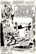 Original Comic Art:Splash Pages, Don Heck and Frank Giacoia Chamber of Darkness #1 StorySplash Page 1 Original Art (Marvel, 1969)....