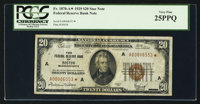 Fr. 1870-A* $20 1929 Federal Reserve Bank Note. PCGS Very Fine 25PPQ