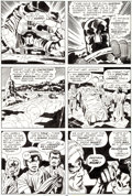 Original Comic Art:Panel Pages, Jack Kirby and Mike Royer Black Panther #9 Page 26 OriginalArt (Marvel, 1978)....