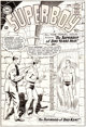 Curt Swan and George Klein Superboy #113 Cover Original Art (DC, 1964)
