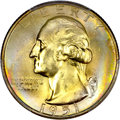 Washington Quarters, 1951-D 25C MS67+ PCGS. CAC....