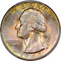 Washington Quarters: , 1945-D 25C MS67 PCGS. PCGS Population (32/0). NGC Census: (125/1).Mintage: 12,341,600. Numismedia Wsl. Price for problem f...