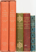 Books:Biography & Memoir, [John Ruskin]. Group of Four Titles by or about Ruskin (in FiveVolumes). Various publishers, 1890 - 1973. ... (Total: 5 Items)