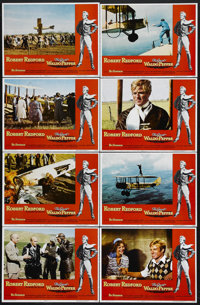 """The Great Waldo Pepper (Universal, 1975). Lobby Card Set of 8 (11"""" X 14""""). Drama. Directed by George Roy Hill..."""